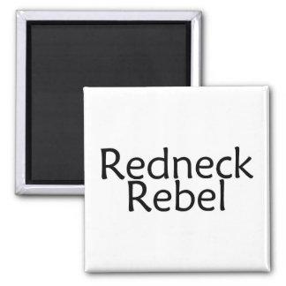 Redneck Rebel 2 Inch Square Magnet