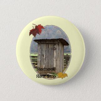 Redneck Rest Stop Pinback Button