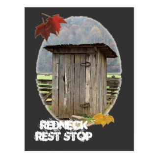 Redneck Rest Stop Postcard