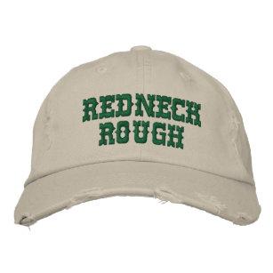 REDNECK ROUGH - DISTRESSED LOOK BASEBALL CAP dde60e521482