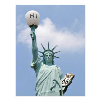 Redneck Statue of Liberty Postcard