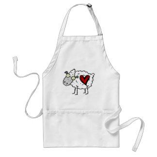 Redneck Sweetheart - Sheep Love Apron