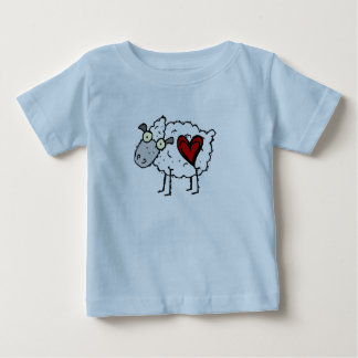 Redneck Sweetheart - Sheep Love Baby T-Shirt