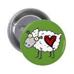 Redneck Sweetheart - Sheep Love Buttons
