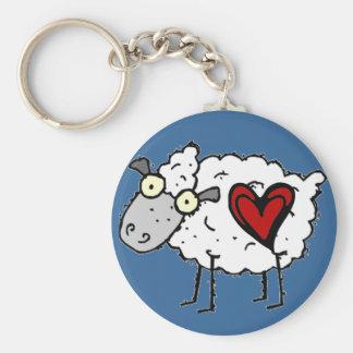 Redneck Sweetheart - Sheep Love Keychain