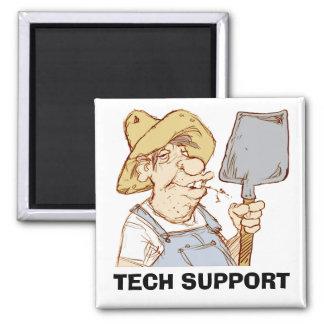 Redneck Tech Support Fridge Magnet