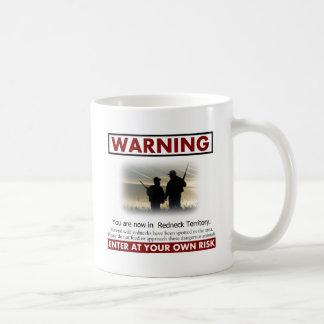 Redneck Territory Warning Coffee Mug