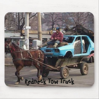 Redneck Tow Truck Mouse Pad