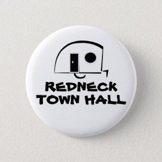 REDNECK TOWN HALL button