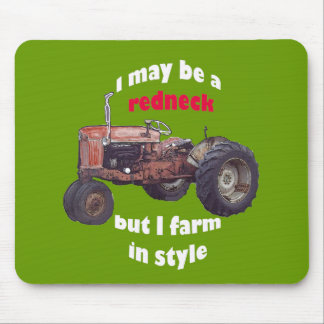 redneck_tractor mouse pad