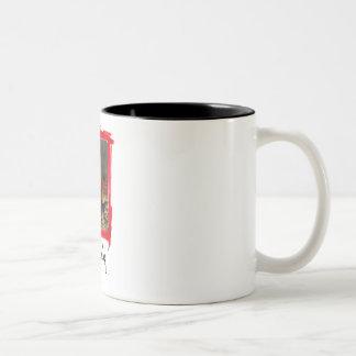 redneck Two-Tone coffee mug