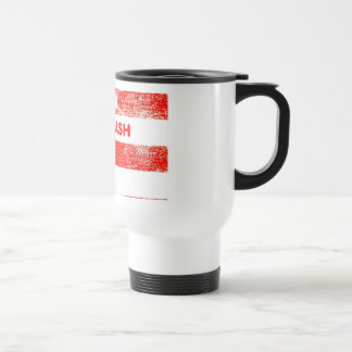 RedNeck White Trash Blue Collar Road Cup 15 Oz Stainless Steel Travel Mug