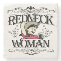 Redneck Woman Stone Coaster