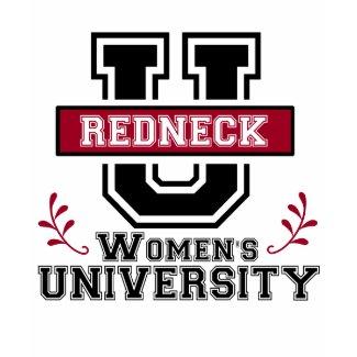 Redneck Women's University shirt