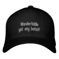 Redneck word Wonderfiddle cap