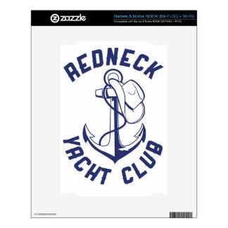 Redneck Yacht Club Decals For NOOK