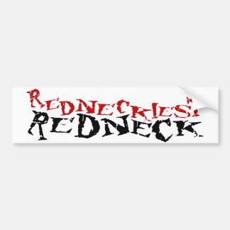 Redneckiest Redneck Bumper Sticker