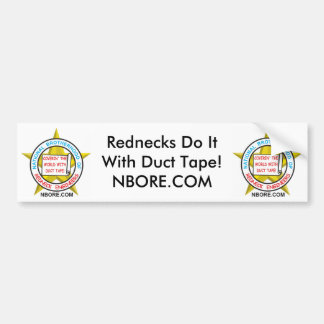 Rednecks Do It With Duct Tape Bumper Sticker