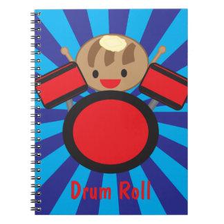Redoble de tambor libro de apuntes