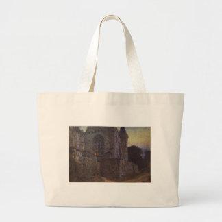 Redon Abbey by Vasily Polenov Jumbo Tote Bag