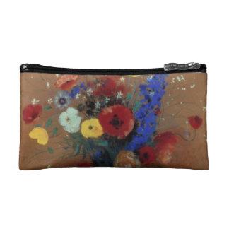 Redon: Wild Flowers, C1912 Cosmetic Bag
