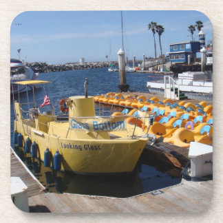 Redondo Beach California Beverage Coaster