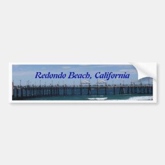 Redondo Beach California Bumper Sticker