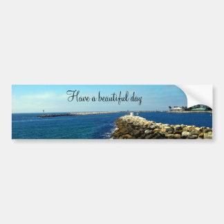 Redondo Beach California_ Bumper Sticker