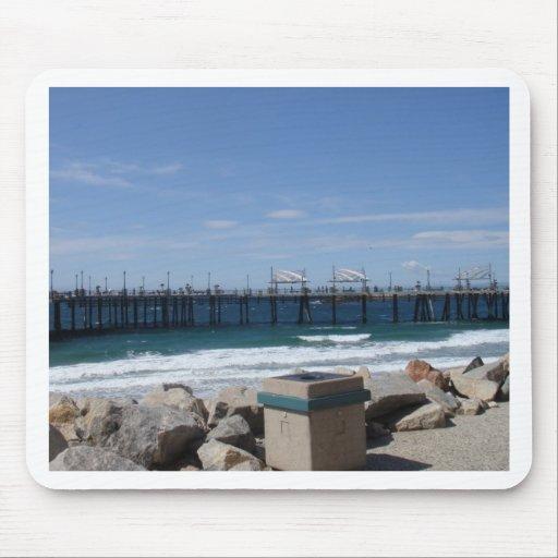 Redondo Beach California Mouse Pad