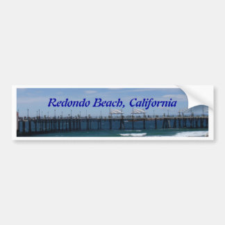 Redondo Beach California Pegatina Para Auto