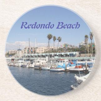 Redondo Beach California Posavasos De Arenisca
