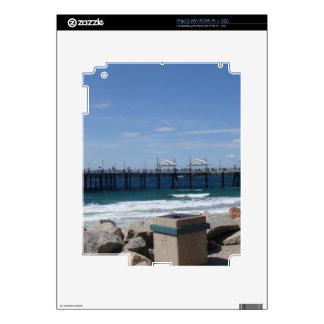 Redondo Beach California Decals For iPad 2