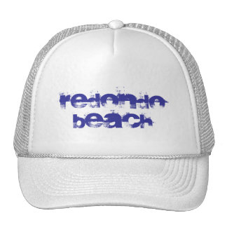 Redondo Beach hat. Trucker Hat