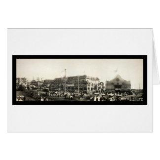 Redondo Beach People Photo 1910 Card