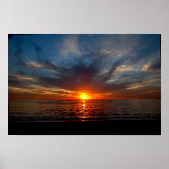 Redondo Beach Sunset #1 Poster