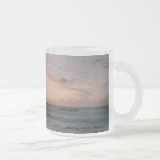 Redondo Beach Sunset Mug - Glass - no border