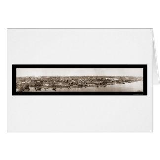 Redondo, CA Lumber Photo 1909 Card