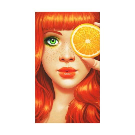 RedOrange Canvas Print