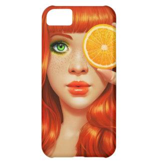 RedOrange iPhone 5C Cases