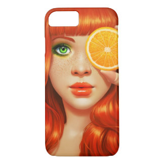 RedOrange iPhone 7 Case