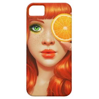 RedOrange iPhone SE/5/5s Case
