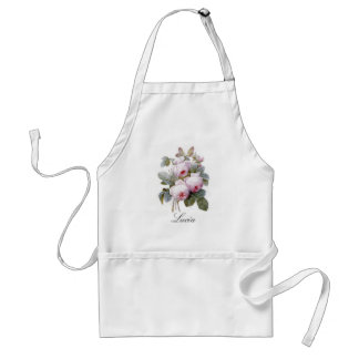 Redoute 4 (Rose) Adult Apron