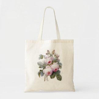 Redoute 4 (Rose) Tote Bag