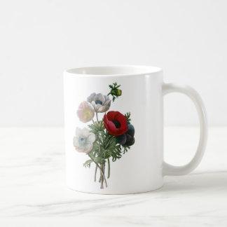 Redoute: Anemone, 1833 Coffee Mug