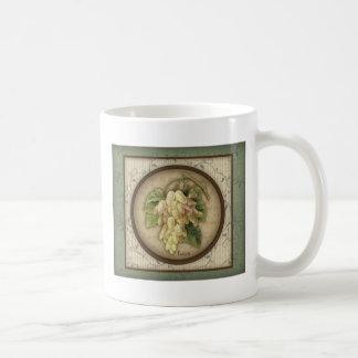 Redoute' Botanical Grapes Mug