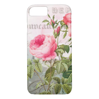 Redoute French Rose Accent Shabby iPone 6/6S Cover