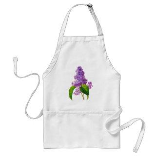 Redoute Lilacs Adult Apron