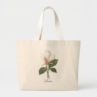 Redoute Magnolia Large Tote Bag