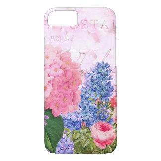 Redoute Pink Flowers Hydrangea iPhone 7 Case