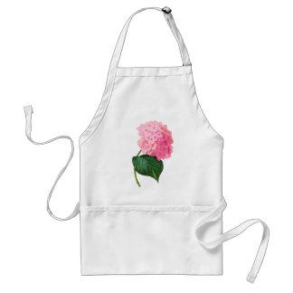 Redoute Pink Hydrangea Apron